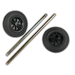 Wheelie Bin Spare Wheels and Axles