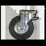 Wheelie Bin Spare Wheel (Braked)