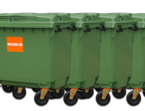 Top uses for the 1100 litre Wheelie Bin